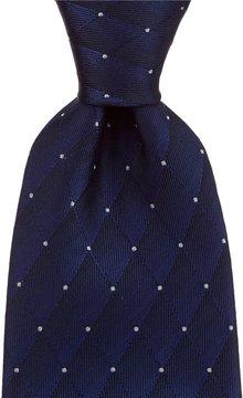 Murano Diamond Dot Traditional Silk Tie
