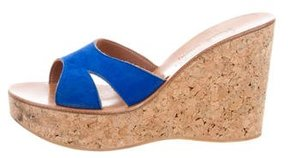 K Jacques St Tropez Slide Wedge Sandals