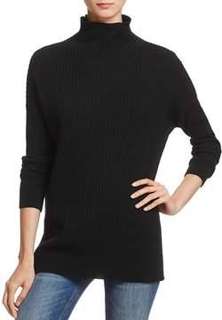 Aqua Rib-Knit Cashmere Tunic - 100% Exclusive