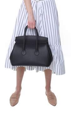 Bally Sommet Medium Pebbled-leather Handbag