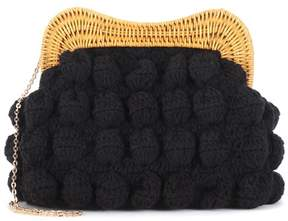 Kayu Hurricane crochet clutch