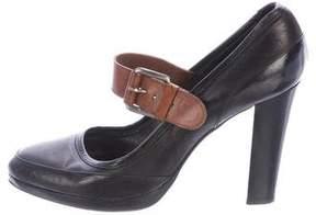 Barbara Bui Leather Mary Jane Pumps