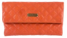 Marc Jacobs Quilted Leather Shoulder Bag - ORANGE - STYLE