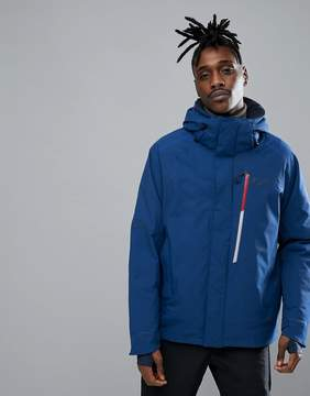 Jack Wolfskin Exolight Icy Jacket in Royal Blue with Chest Pocket
