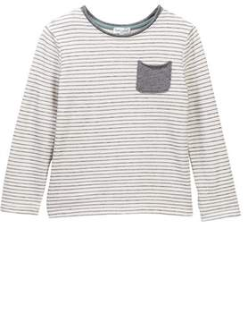 Splendid Striped French Terry Long Sleeved Tee (Little Boys)