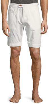 Psycho Bunny Men's Textured Cotton Shorts