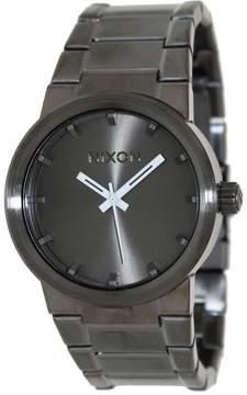 Nixon Men's Cannon A160632 Grey Stainless-Steel Quartz Fashion Watch
