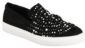 Mia Women's Aretha Embellished Slip-On Sneaker