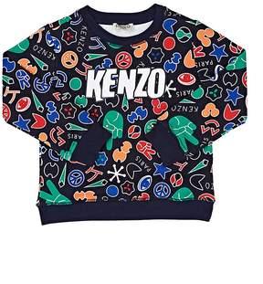 Kenzo Kids' Symbol-Print Cotton Terry Sweatshirt