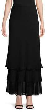 Alex Evenings Tiered A-Line Skirt