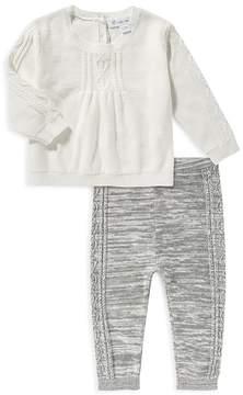 Angel Dear Girls' Sweater & Knit Leggings Set - Baby