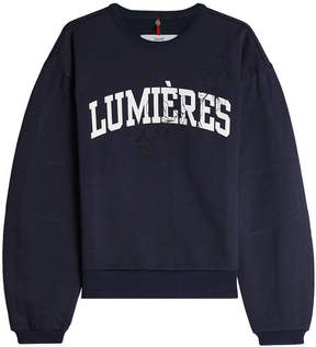 Oamc Lumières Cotton Sweatshirt