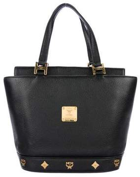 MCM Small Leather Tote