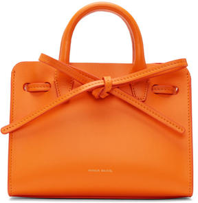 Mansur Gavriel Orange Mini Mini Sun Tote