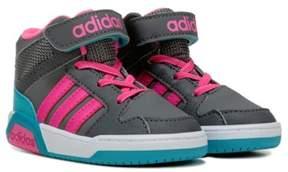 adidas Kids' Neo BB9TIS High Top Sneaker Toddler