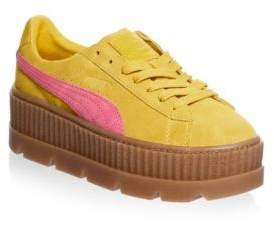 Puma Women's Cleated Creeper Suede Sneakers
