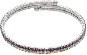 Brilliance+ Brilliance Purple Ombre Coil Bracelet with Swarovski Crystals