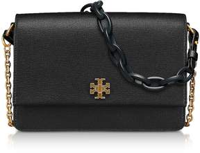 Tory Burch Kira Double Strap Shoulder Bag - BLACK - STYLE