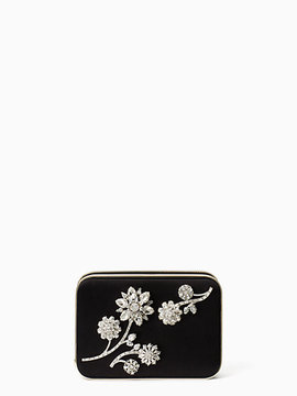 Kate Spade Evening belles zurie with flower gem - GOLD - STYLE