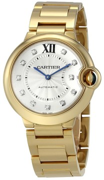 Cartier Ballon Bleu Automatic Ladies Watch