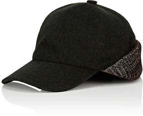 Barneys New York MEN'S KNIT WOOL-BLEND BASEBALL CAP