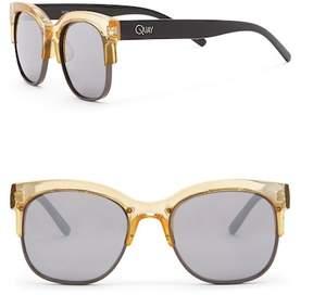 Quay Bronx Clubmaster Sunglasses