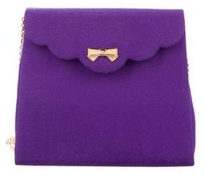 Nina Ricci Woven Grosgrain Shoulder Bag