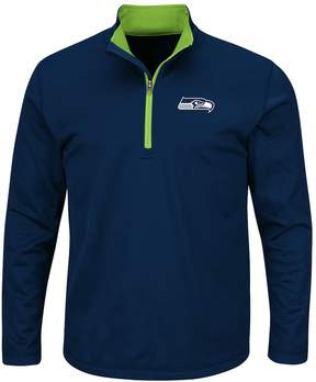 Majestic Big & Tall Seattle Seahawks Logo Pullover