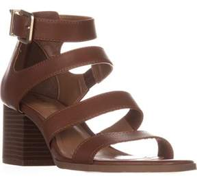 Style&Co. Sc35 Naomii Strappy Heeled Sandals, Umber.