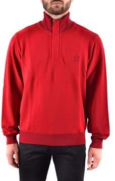 Paul & Shark Men's Red Wool Sweater.