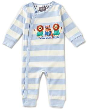 Joules Baby Boys Newborn-24 Months Striped Long-Sleeve Coverall