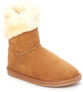 Lamo Chestnut Faux Fur Wrap Boot - Women