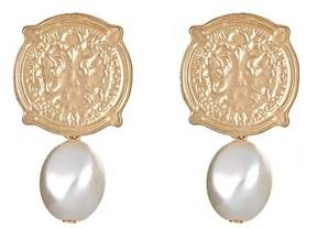 Fornash Calypso Coin Earrings