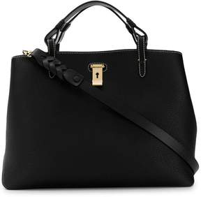 Bally top handle tote