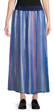 Context Striped Maxi Skirt