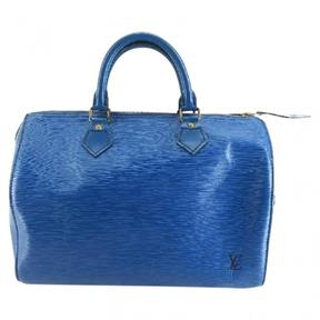 Louis Vuitton Speedy satchel - BLUE - STYLE