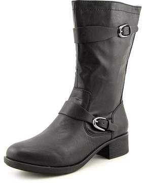 Style&Co. Style & Co. Style & Co Clemint Women Round Toe Synthetic Black Mid Calf Boot