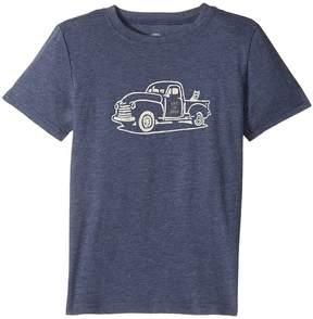 Life is Good Rocket Truck Cool Tee Boy's T Shirt