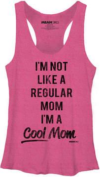 Fifth Sun Heather Pink Mean Girls 'Cool Mom' Racerback Tank - Juniors
