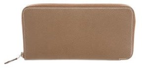 Hermes Epsom Silk'In Wallet - NEUTRALS - STYLE