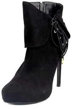 Thalia Sodi Womens Ohlivia Round Toe Ankle Platform Boots.