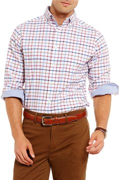 Daniel Cremieux Slim-Fit Graph Stretch Oxford Long-Sleeve Woven Shirt