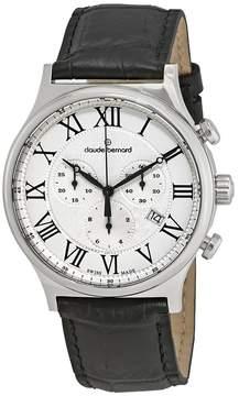 AR+ Claude Bernard Classic Chronograph Silver Dial Men's Watch 10217 3 AR