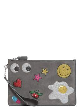 Anya Hindmarch Glitter Stickers Pouch