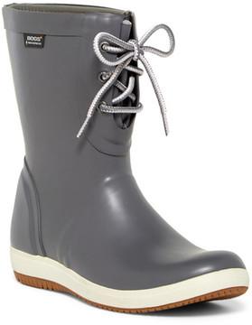 Bogs Quinn Lace-Up Waterproof Rain Boot