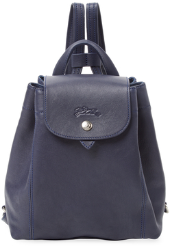 Longchamp Women's Solid Leather Backpack