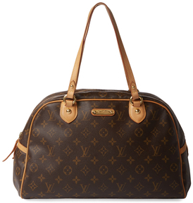 Louis Vuitton Vintage Monogram Canvas Montorguell PM - BROWN - STYLE