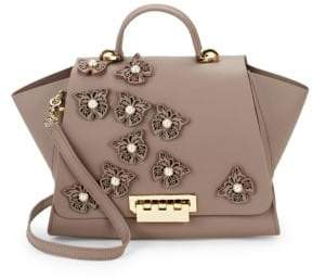 Zac Posen Eartha Iconic Soft Leather Top Handle Bag