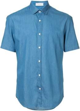 Cerruti shortsleeved denim shirt