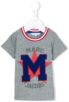 Little Marc Jacobs m appliqué T-shirt